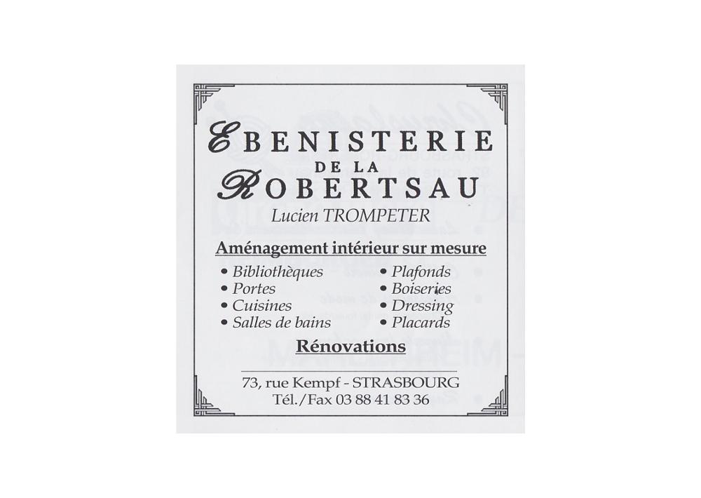 Ebénisterie Strasbourg  Robertsau